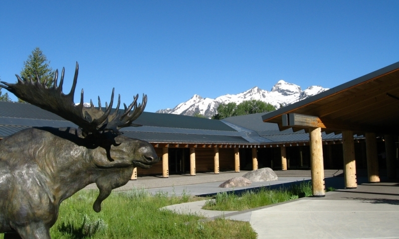 The Grand Teton National Park Visitor Center