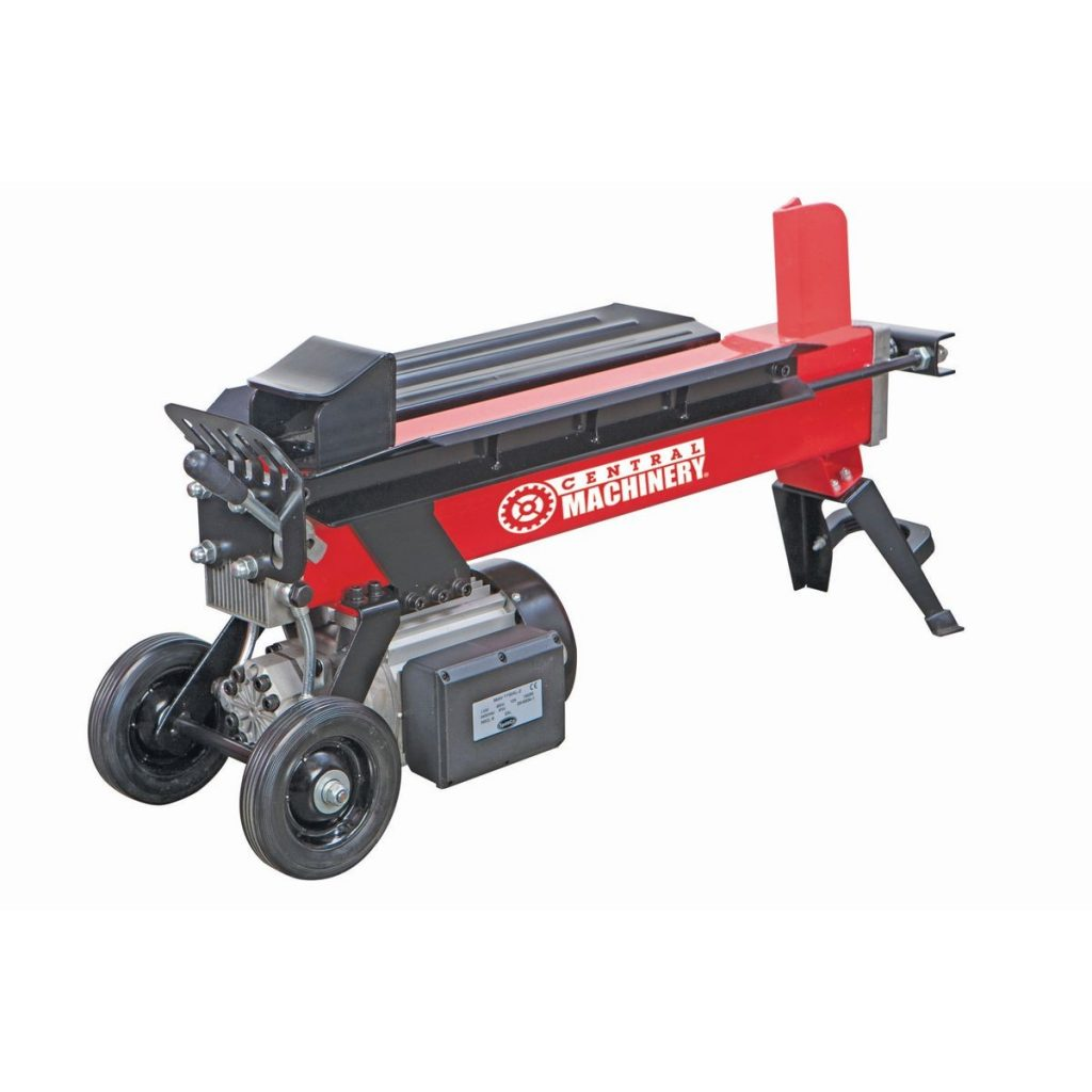 Harbor Freight 5 Ton Electric Log Splitter
