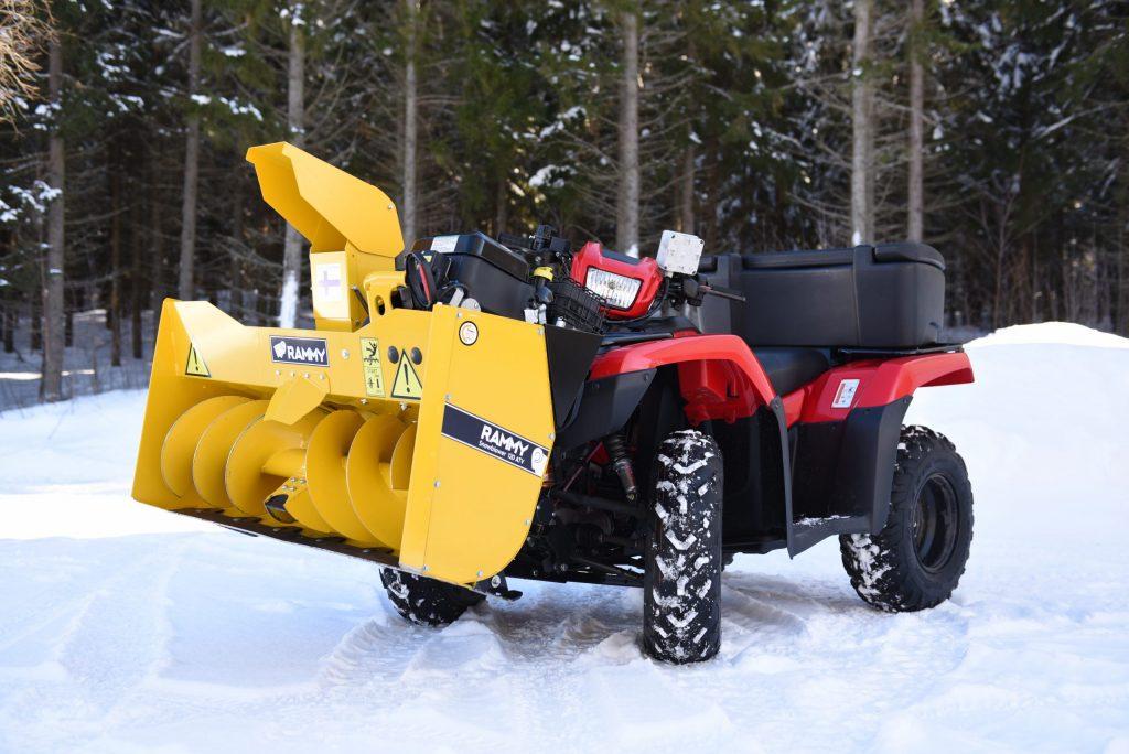 Rammy ATV Snowblower