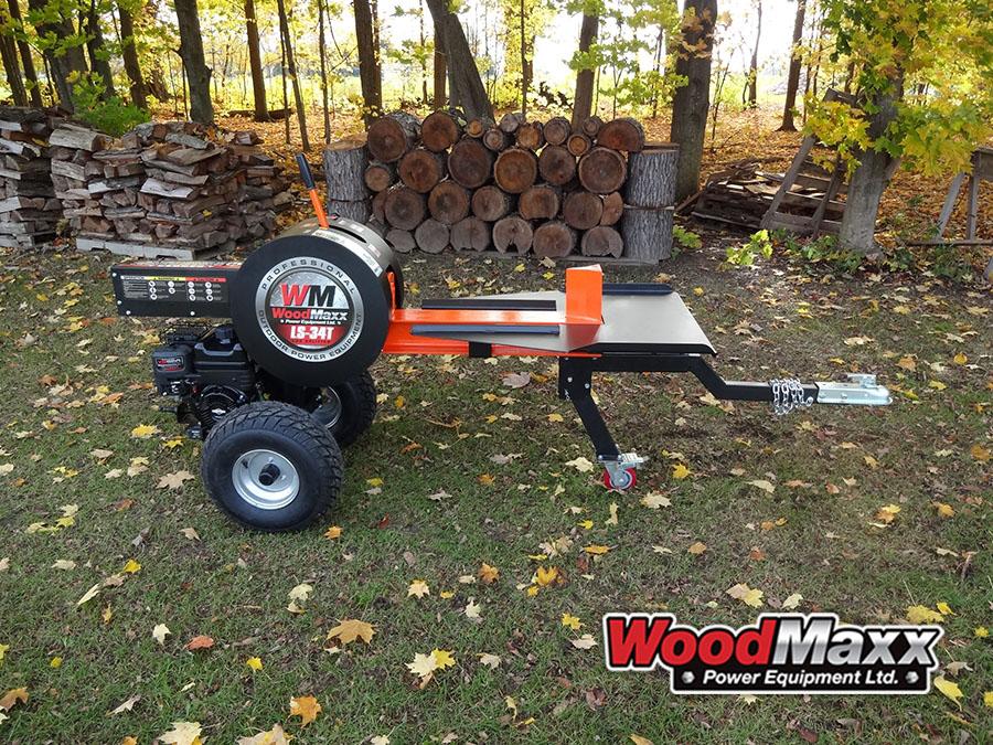 WoodMaxx LS-T34T Kinetic Log Splitter