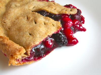 Cherry Mulberry Pie
