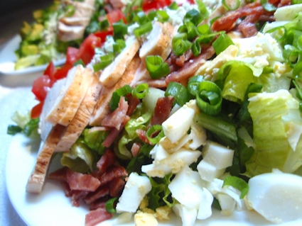 Cobb Salad and Dressing