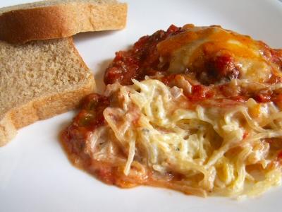 Creamy Spaghetti Squash Casserole