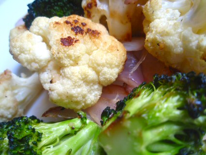 Grilled Broccoli and Cauliflower