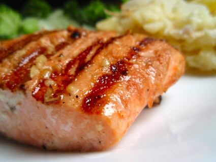 Grilled Copper River Salmon