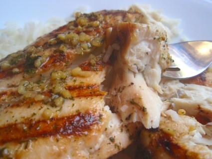 Grilled Lemon-Garlic Mahi Mahi Fillets