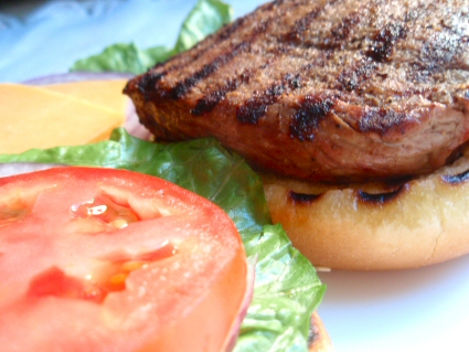 Grilled New York Steakburgers