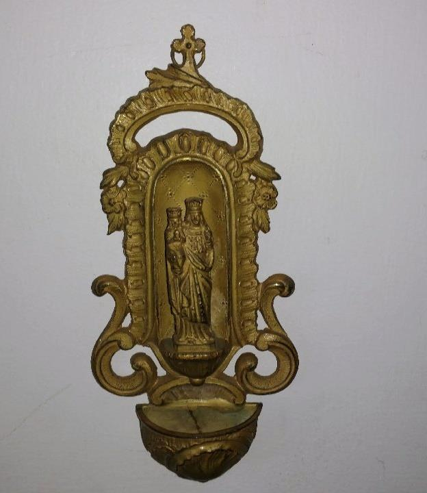 a home holy water font