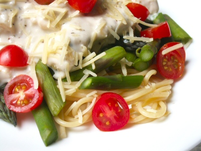 Italian Chicken and Asparagus