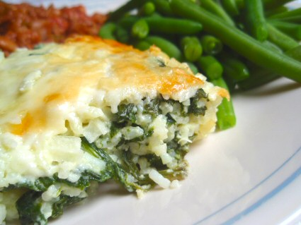 Spinach Rice Casserole