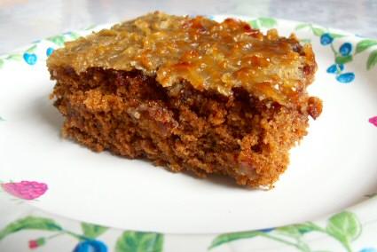 Oatmeal Spice Cake