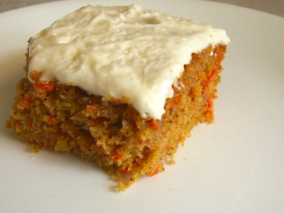Old-Fashioned Carrot Cake with Cream Cheese Icing