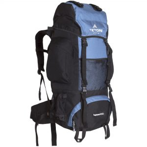 Teton Sports Explorer 4000 backpack for larger hikers.