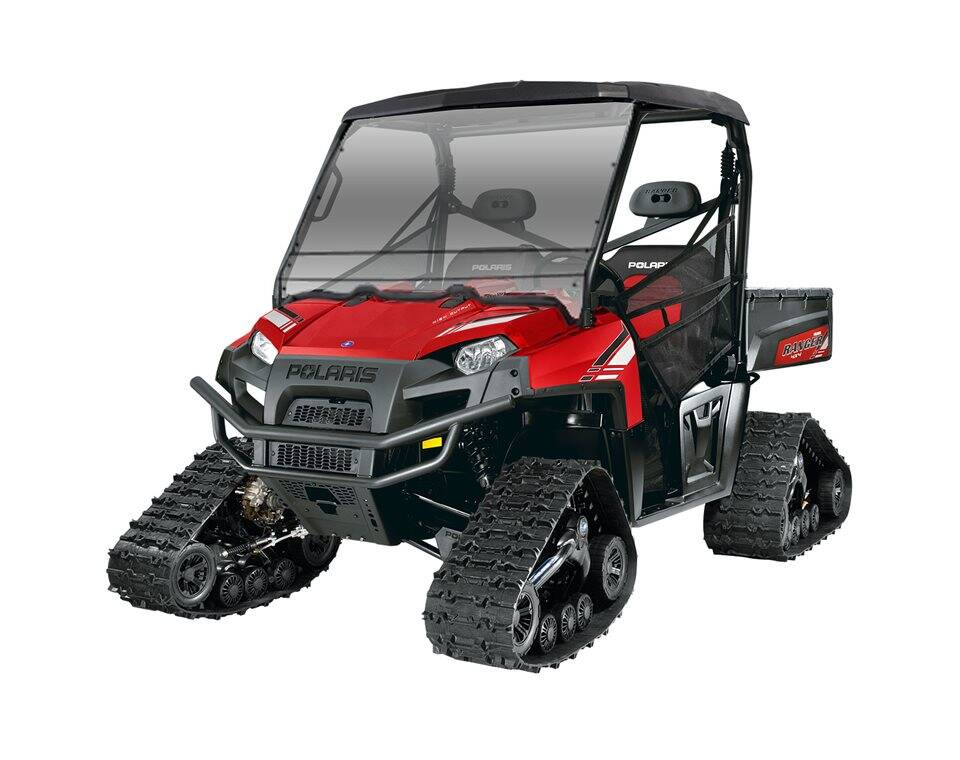 Polaris Ranger with Track System