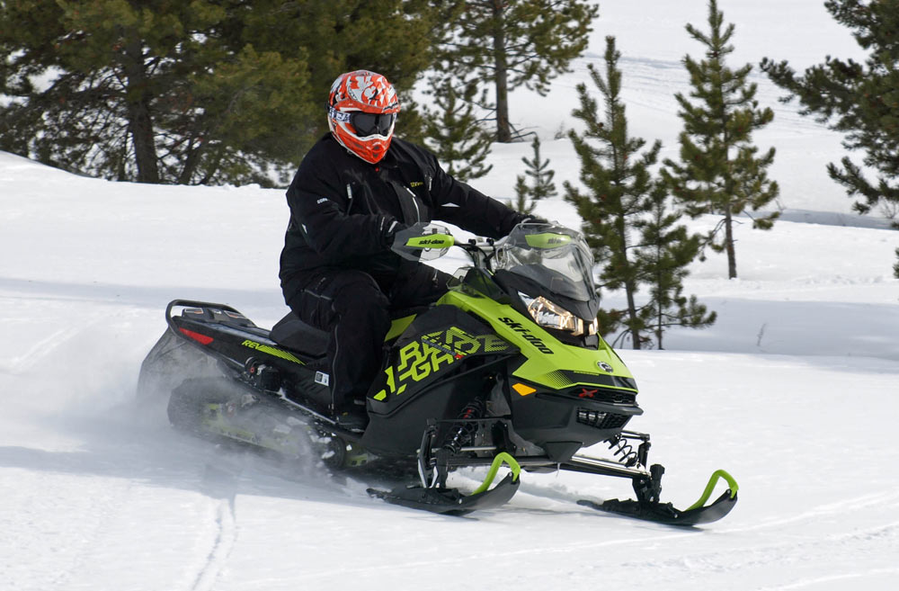 Snowmobiles for Heavy Riders
