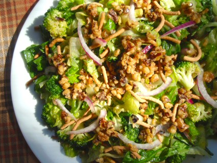 Romaine and Broccoli Salad