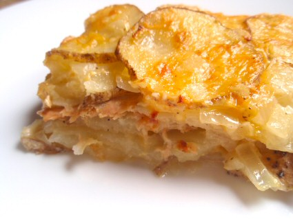 Salmon Potato Casserole