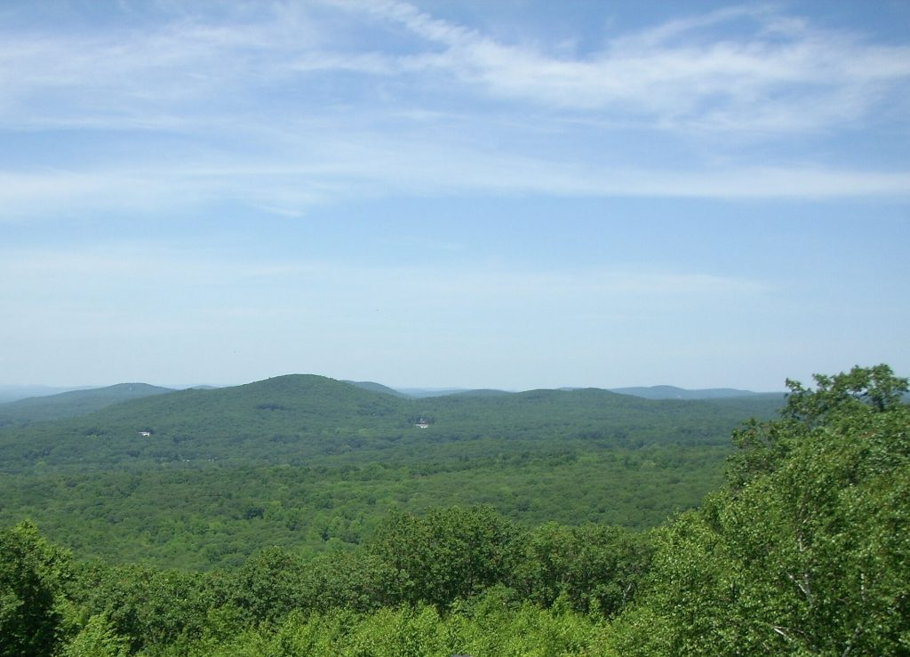 The view from Soapstone Mountain