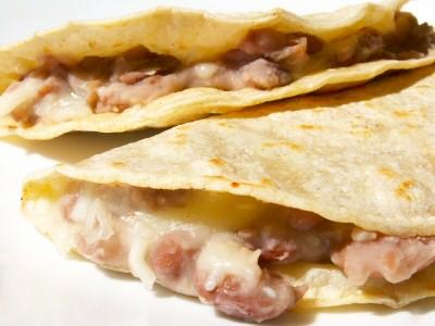 Simple Bean Tacos
