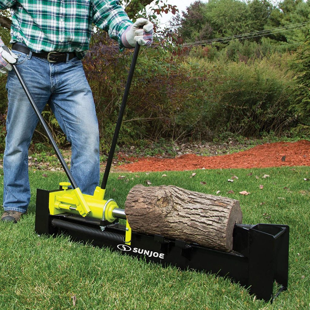 Sun Joe 10 Ton Hydraulic Log Splitter