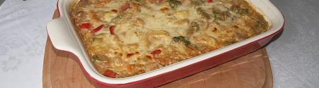 Veggie Tuna Casserole