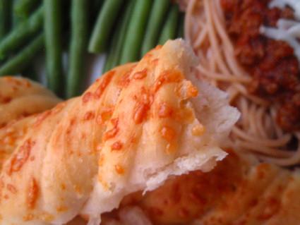 Twisted Parmesan Breadstick