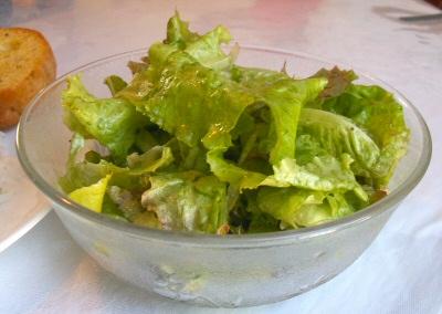Vinegar and Oil Salad Dressing
